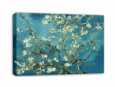 CANVAS Almond Blossoms by Vincent Van Gogh LARGE 40x30 Giclee Gallery Wrapped