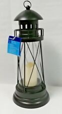 Large Metal Lighthouse Lantern, Black