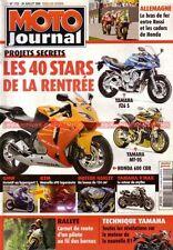 MOTO JOURNAL 1722 Essai Test YAMAHA TY 125 SCORPA TY-S R1 HARLEY DAVIDSON KTM