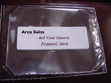 New Arca Swiss 4x5 Camera Fresnel Lens + Ground Glass-Best quality