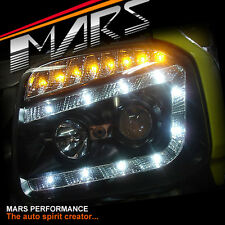 DRL LED Projector Head Lights with LED Indicators for Suzuki Jimny SN413 T4 T6