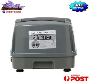 Air Pump Oxygen Pump Aquarium Fish Tank Pond Silent Power Aerator 100L/Min