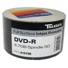 DVD-R Traxdata per l'archiviazione di dati informatici per 4,7GB