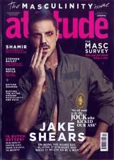 UK Attitude Magazine December 2017 Jake Shears Scissor Sisters Cover Interview
