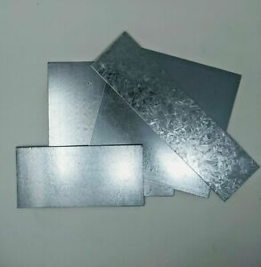 Top Quality New Galvanised Mild Steel Sheet Metal 1.5mm 2mm 50+ sizes