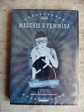 Le origini del cinema (1919)-Maschio e femmina - regia di Cecil B. Demille DVD