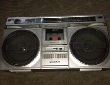 Vintage SANYO M9935K AM-FM-SW Cassette Stereo Boombox Ghetto Blaster 1980s Radio
