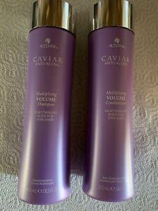 Alterna Caviar Volume shampoo and conditioner