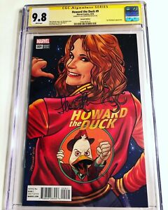 CGC 9.8 SS Howard the Duck #9 Variant signed by movie star Lea Thompson