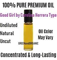 Carolina Herrera GOOD GIRL Perfume Oil for Women UNCUT Pure Grade A Roll on 10ml