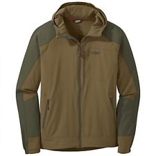 OUTDOOR RESEARCH Ferrosi Hooded Jacket - Coyote/Fatigue Brown - Men's Small