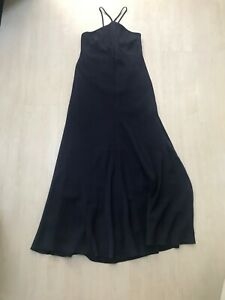 Ted Baker Blue Halter Maxi Size 3