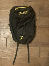 Zoot sports Transition Backpack Black And Gold Running Triathlon Or bicycle