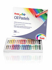Pentel Artists  Oil Pastels 36 Brilliant Colours