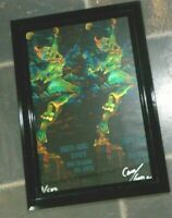 Nicely Framed Mardi Gras Poster  Feb. 20th. 2007  Signed Dated & Numbered