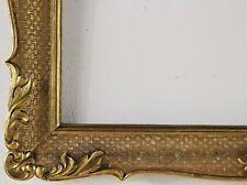 Holzrahmen gold Innenmaß ca. 58x74,5 cm