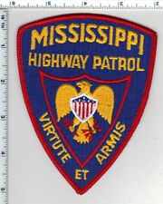 Highway Patrol (Mississippi) Shoulder Patch from the 1980's