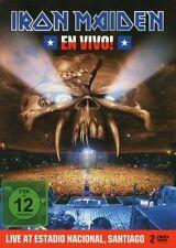 "IRON MAIDEN ""EN VIVO! LIVE IN SANTIAGO DE CHILE (LIMITED STEELBOOK)"" 2 DVD NEW+"