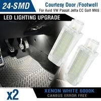 LED Footwell Step Glove Box Trunk Light For VW Transporter Golf GTI MK6 Jetta