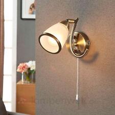 Wandleuchte Irma Spiegelbeleuchtung Bad Wandlampe mit Zugschalter Lampenwelt