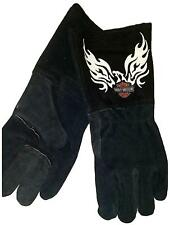 Harley Davidson Wings and Classic Logo Welders Gloves TOTAL CLOSEOUT