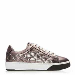 Womens Moda In Pelle Adelaid Leather Trainers