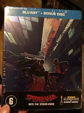Spider-man Into The Spiderverse Steelbook New & Sealed