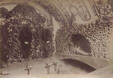 Cimitero dei Cappuccini Rome Roma Italie Italia Tirage albuminé ca 1880
