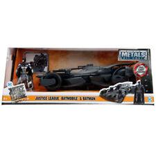 Jada Batman Justice League Batmobile with Batman Diecast Figure Grey 1:24 99232