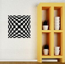 Wall Sticker Vinyl Decal Modern Style Decor Art Living Room Illusion (ig1303)