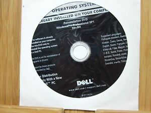 Dell Reinstallation DVD Windows 7 Professional SP1 64-Bit P/N OVDWFK