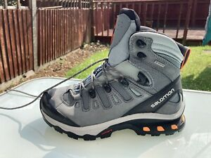 Salomon Quest 4D 3 GTX Women's Hiking Boots UK 6 Superb cond Smoke & Pet free