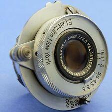 Wollensak Velostigmat 50mm 3.5 Lens E Leitz New York Leica Screw Mount