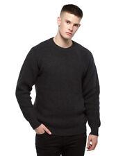Merino Fisherman Rib Sweater