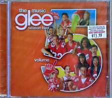GLEE - THE MUSIC - VOLUME 5 - 2011 CD - COLUMBIA - STILL SEALED