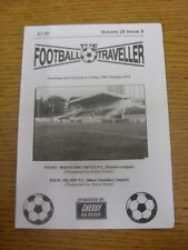 02/10/2014 The Footballer Traveller: Vol 28 Issue 09 - Maidstone United & Helsby
