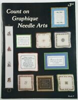 Cross Stitch Pattern Book #2 Count On Graphique Needle Arts
