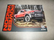 2016 ? Dodge Ram Power Wagon Sales Brochure - Vintage