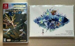 Nintendo Monster Hunter Rise Switch w/Download Number Calendar Capcom Limited