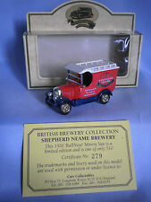 LLEDO DAYS GONE BULLNOSE MORRIS VAN SHEPHERD NEAME - LIMITED EDITION N. 279/510