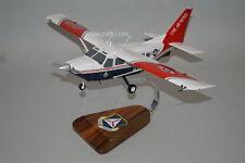 Civil Air Patrol CAP GA-8 Airvan mahogany wood airplane model