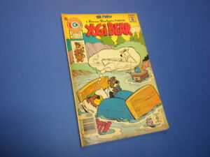 YOGI BEAR #32 Charlton Comics 1976 tv cartoons