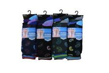Calcetines para hombre De Diseño Retro Funky patrón de Paisley Traje Oficina Boda Calcetines De Algodón