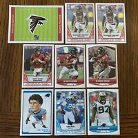 2019 Panini NFL Football Stickers Atlanta Falcons and Carolina Panthers Matt Rya