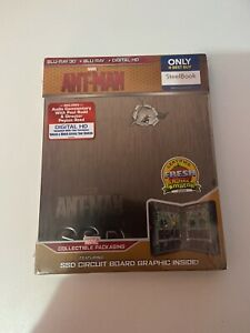 Ant Man (2015) Canadian BestBuy Steelbook [SEALED]