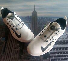 Nike Lunar Command 2 BOA White/Black Golf Shoes Mens Size 13 888552 100 New