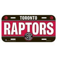 Toronto Raptors License Plate Lightweight Plastic NBA Licensed New