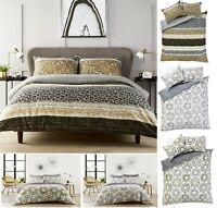 Luxuries ZARA PEONY Printed Reversable Duvet Quilt Cover+Pillow Case Bedding Set