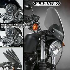 HARLEY XL883N IRON GLADIATOR WINDSHIELD LITE TINT BLACK MNTS N2714 NIB