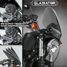HARLEY XL1200L SPORTSTER LOW GLADIATOR WINDSHIELD LITE TINT BLACK MNTS N2714 NIB